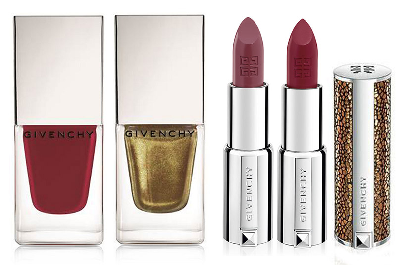 Givenchy-Makeup-Collection-for-Christmas-2013-nails-and-lips