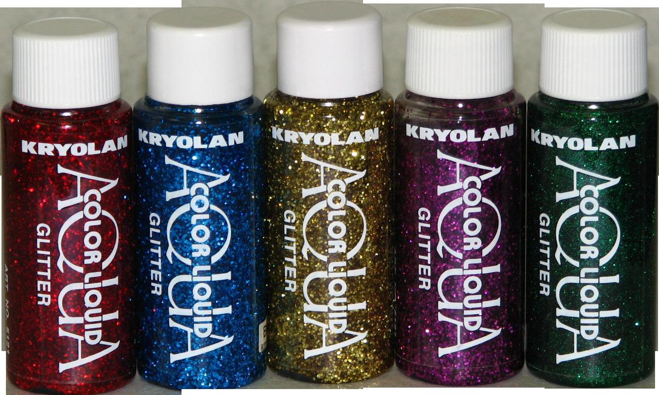 aquacolorglitter