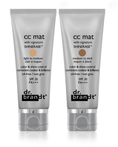 dr brandt cc mat both tubes