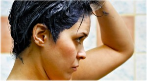 getty_rf_photo_of_woman_dyeing_hair